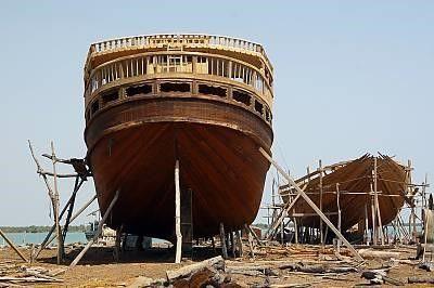 طرح تعمیرگاه لنج و انواع شناورهای دریایی